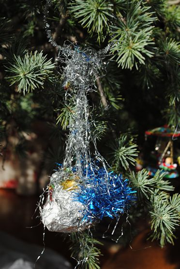 ornament jolly toddler holiday